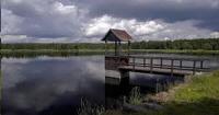 Ilustrační foto - pohled z hráze Černého rybníka